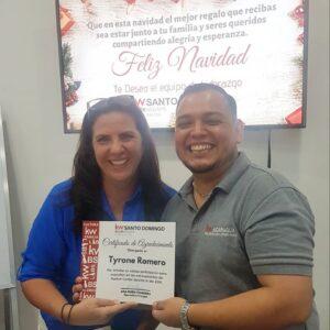 Entrenador Tyrone Romero