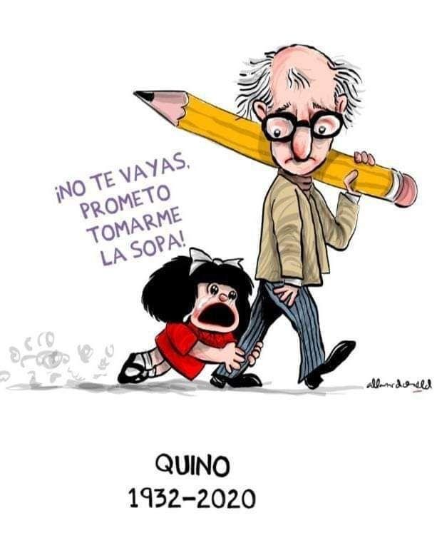 Fallece Quino