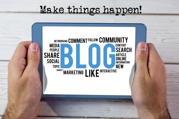 pasos esenciales para escribir un buen blogspot
